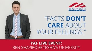 Download Ben Shapiro LIVE at Yeshiva University Video