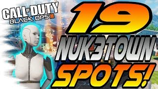 Download ALL 19 NUK3TOWN Spots & Glitches! - Ledges, Hiding Spots, Lines of Sight (Black Ops 3/BO3 Nuketown) Video