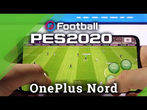 PES Mobile on OnePlus Nord - Gaming Quality Test