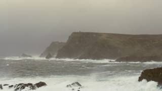 Download POWERFUL Thunderstorm & Ocean Sounds for Sleep or Study   Heavy Rain & Stormy Sea   4K HD Video Video