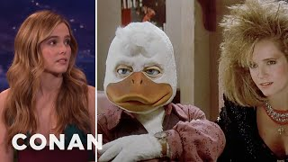Download Zoey Deutch Watched Her Mom Have Sex With Howard The Duck - CONAN on TBS Video