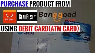 Download Buy from aliexpress using Debit Card( SBI ATM)100% practical Video