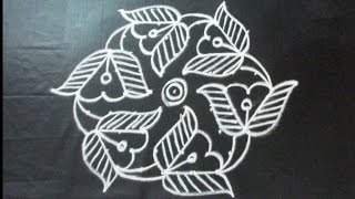 Download Easy Rangoli Designs | with 9 to 5 dots | Simple Kolam | Latest muggulu by Sunitha Video