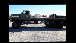 Download 1989 Ford F800 flatbed truck for sale | sold at auction May 31, 2013 Video