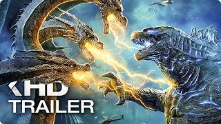 Download GODZILLA 2: King of the Monsters - 8 Minutes Trailers (2019) Video