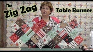 Download Zig Zag Charm Pack Table Runner Video