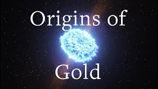 Download Origins of universe's gold discovered in neutron star mergers Video