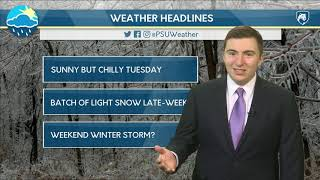 Download Monday Evening Forecast (1/14/19) Video