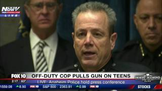 Download PRESS CONFERENCE: Anaheim Police Respond to Viral Video of Off-Duty Cop Pulling Gun on Teens (FNN) Video