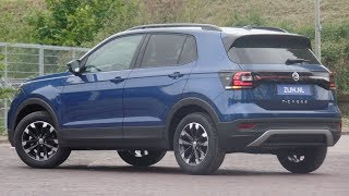 Download Volkswagen NEW T-cross Life 2019 Reef Blue 16 inch Rochester walk around & detail inside Video