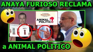 Download AUDIO de #ANAYA FURIOSO RECLAMANDO a ANIMAL POLÍTICO por haber desmentido sus mentiras en el debate. Video