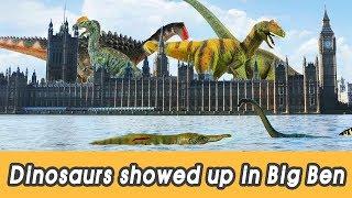 Download [EN] #95 Dinosaurs showed up in Big Ben, kids education, Dinosaur movie, CollectaㅣCoCosToy Video