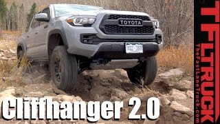 Download 2017 Toyota Tacoma TRD Pro Takes on the Extreme Cliffhanger 2.0 Off-Road Review Video