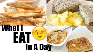 Download What I eat in a day! - Vegan & Vegetarian Friendly Video