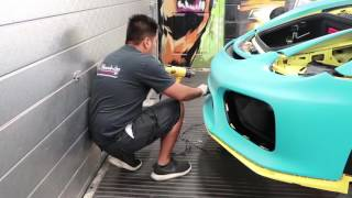 Download Porsche GT4 wrapped for LA MUSCLE! Video