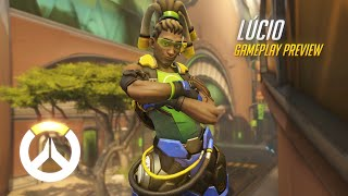 Download Lúcio Gameplay Preview | Overwatch | 1080p HD, 60 FPS Video