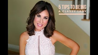 Download 5 TIPS to Being A CLASSY LADY | ETIQUETTE | TOPICS w/ TRACY Video
