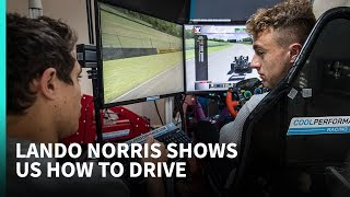Download 'He's going to spin again!' - Simulator tips with 2019 F1 driver Lando Norris Video