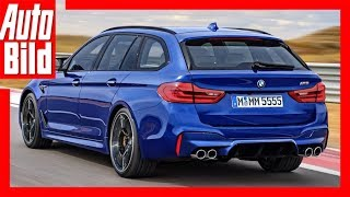 Download BMW M5 Touring (2018) Illustration Video
