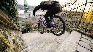 Download Urban Freeride lives - Fabio Wibmer Video