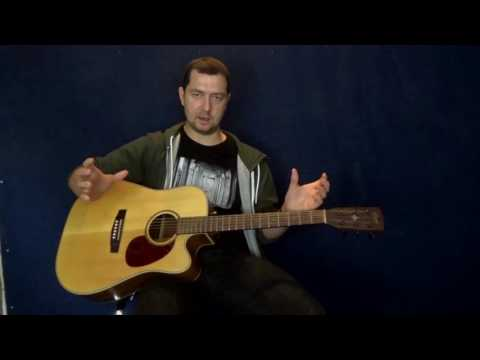 How To Play Blues Guitar - `Smokehouse Blues`  Fun and easy fingerstyle blues!