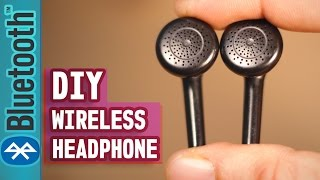 Download How to make your Headphone Wireless(Even old Broken Headphone)-DIY Life Hack Tutorial Video