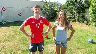 Download FORFEIT FOOTBALL vs MY SISTER Video