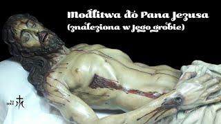 Download Modlitwa do Pana Jezusa znaleziona w Jego grobie. Video