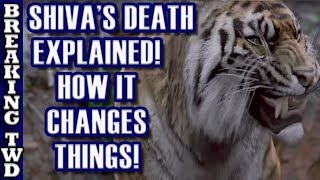 Download Shiva's Death EXPLAINED | ″Some Guy's″ Tiger | The Walking Dead Season 8 Episode 4 Video