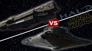 Download UNSC Infinity vs First Order Star Destroyer | Halo vs Star Wars: Who Would Win Video