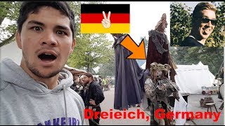 Download AMERICANS visit MEDIEVAL FESTIVAL in TINY GERMAN TOWN!!! *AWESOME* Video