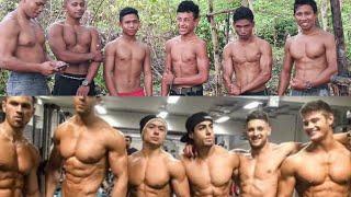 Download #latihan #otot #dada Fitness kampung vs Bodybuilders Video