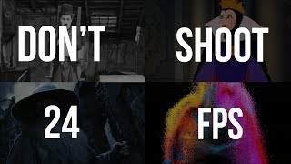 Download When You Should NOT Shoot in 24 FPS Video