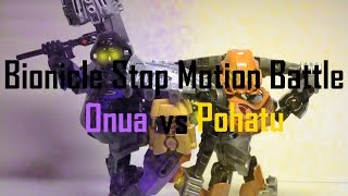Download (LEGO) Bionicle 2015 Stop Motion Battle: Onua VS Pohatu (Bionicle 2015) Video
