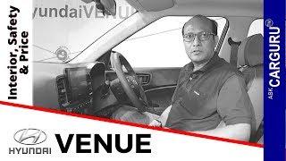 Download Hyundai Venue SUV Details by CARGURU, ENGINE, INTERIOR, SAFETY, BOOT & PRICE. Video