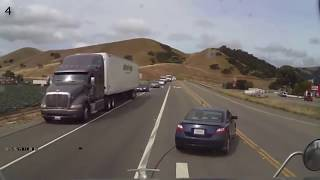 Download What You Don't Do In Front Of A Semi Truck Video