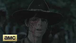 Download The Walking Dead 6x09 - Carl Loses His Eye Scene Video