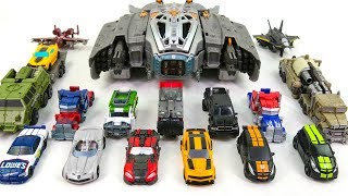 Download Transformers Movie Cyberverse Commaneder & Legion Mini 16 Vehicle Truck fighter Car Robot Toys Video