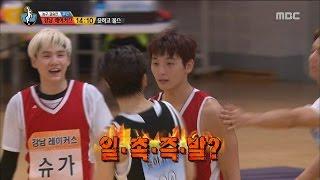 Download [Idol Star Athletics Championship] 아이돌스타 선수권대회 2부 - 2AM Jeong Jinwoon & VIXX Hongbin 20150929 Video