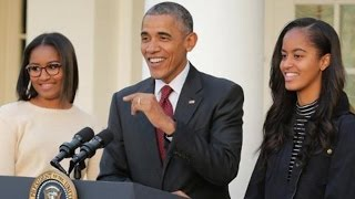 Download President Obama Gushes Over Daughters Sasha and Malia Admits They Complained About Secret Service Video