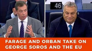 Download Orban and Farage stand up to George Soros and his EU Parliament cronies Video