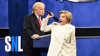 Download Donald Trump vs. Hillary Clinton Third Debate Cold Open - SNL Video