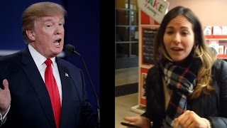 Download Racist Woman Has Trump Rant At Michael's (Chat Show) Video