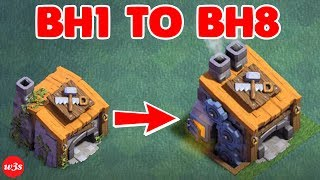 Download New COC Builder Hall 1 To Builder Hall 8 Max Within 20 Minutes 2017 Video
