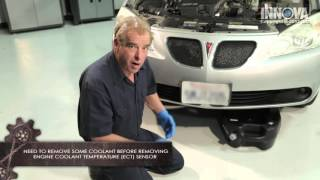 Download How to diagnose a Faulty Engine Coolant Temperature (ECT) Sensor - 2005 Pontiac G6 Video
