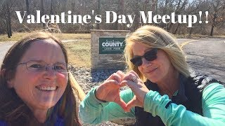 Download Love Park - Valentine's Day Meet Up - Park Travel Review Video