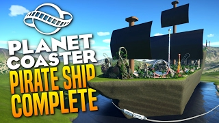 Download COMPLETED PIRATE SHIP PARK - Planet Coaster Gameplay FINALE Video