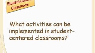 Download How to make your classroom student-centred Video