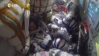 Download Soyuz undocking, reentry and landing explained Video