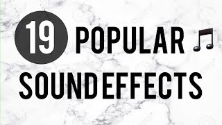 Download Popular sound effects YouTubers use Video
